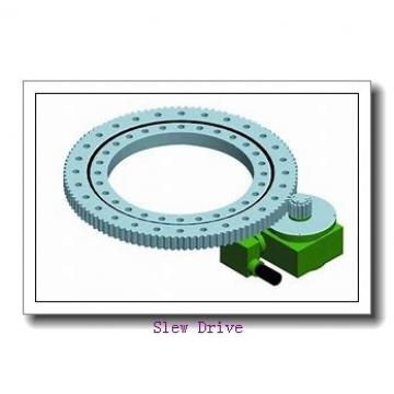Enclosed housing slewing drive for concentrating photovoltaic and solar tracker system